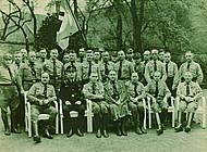 Nationalsozialistische Landtagsabgeordnete nach der Gleichschaltung. Foto: Niedersächisches Landesarchiv - Staatsarchiv Wolfenbüttel 50 Slg 95