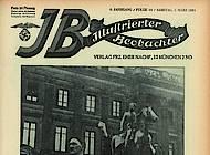 Der Gauparteitag im Februar 1931 als Aufmacher. Illustrierter Beobachter Folge 10/1931.