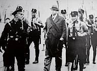 Der verhaftete Oberbürgermeister Ernst Böhme wurde von SA- und SS-Hilfspolizei durch die Stadt geführt. Foto: Stadtarchiv H XVI: HIII 1f /1933