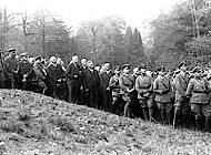 Deutschnationale Politiker und die Führer des Stahlhelms beim Feldgottesdienst. Foto: Sammlung Reinhard Bein, unbekannter Fotograf
