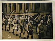 Die Teilnahme an Veranstaltungen der Arbeiterbewegung wie den 1.Mai-Demonstrationen war für die Roten Falken selbstverständlich. Foto: Arbeitskreis Andere Geschichte