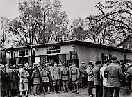 Einweihung des Reichsbanner-Bootshaus im Bürgerpark 1931. Foto: Sammlung Walter Schmidt