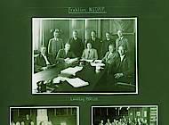 5. Seite des Albums mit Abbildungen des NSDAP-Fraktionen mit Minister Klagges. Foto: Niedersächsisches Landesarchiv - Staatsarchiv Wolfenbüttel 50 Slg 95